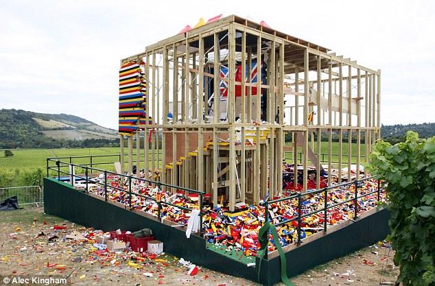 la fin tragique de la maison en lego